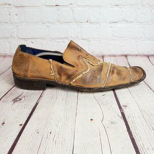 MARK NASON Lounge Leather Loafers Rare Shoes